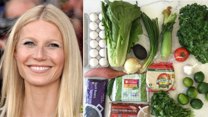 Left: Gwyneth Paltrow, Wikimedia. Right:  @Gwyneth Paltrow