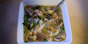 Recipe: Vegan Miso Udon Soup